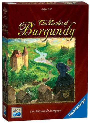 Bg Castles Of Burgundy | GameKnight Games