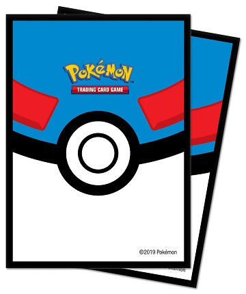 Up Card Sleeve Pokemon Greatball 65ct | GameKnight Games