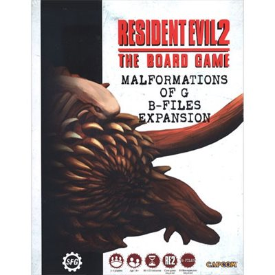 Bg Resident Evil 2 Malformations Of G B-files | GameKnight Games