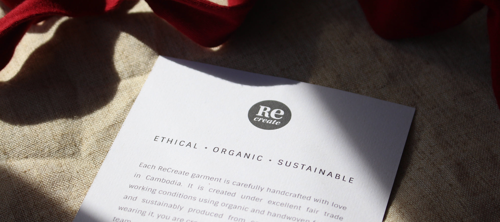 Ethical, Organic, Sustainable