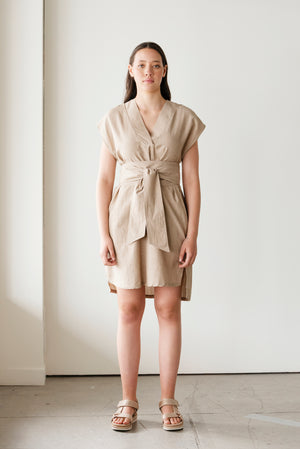 Elevate Handwoven Dress | Driftwood