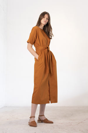 Array Dress | Rust