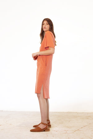 Form Tee Dress | Terracotta