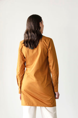 Juncture Dress | Rust