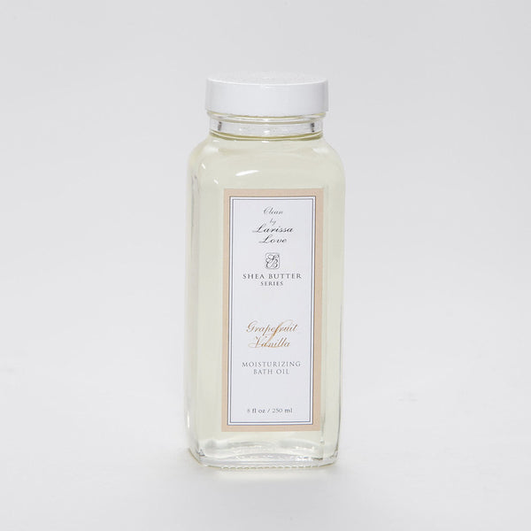 Grapefruit Vanilla Shea Bath Oil