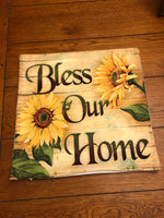 Bless Our Home / Sunflower