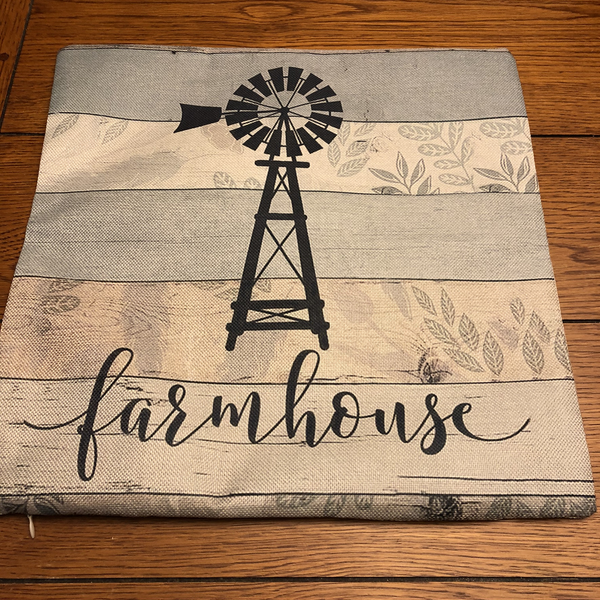 Farmhouse Wind Mill