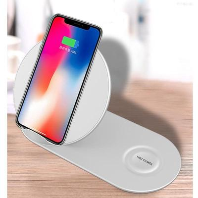 IPHONE QI FAST CHARGE STAND & PAD (CHARGE 2 AT ONCE!)