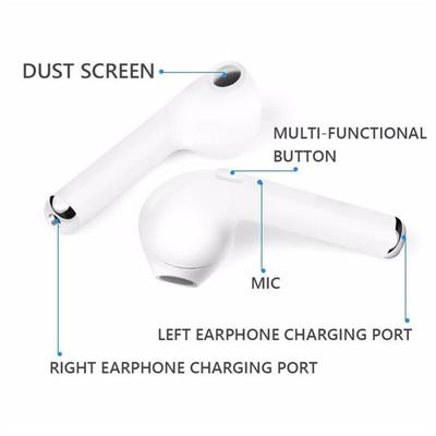 WIRELESS EARBUDS STEREO EARPHONES HANDS-FREE CALLING HEADPHONE SPORT DRIVING HEADSET WITH CHARGING CASE