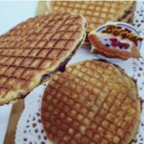 Lacquemant Waffle (Belgian Stroop Waffle) packet of 2