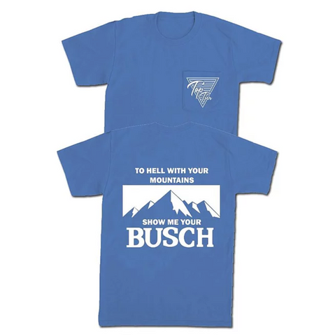 Show Me Your Busch Pocket Tee 🍻