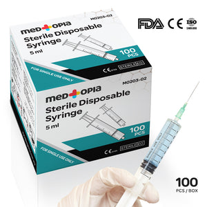 Sterile Disposable Syringes