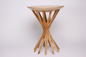 'BLONDE ON BLONDE' SIDE TABLE,