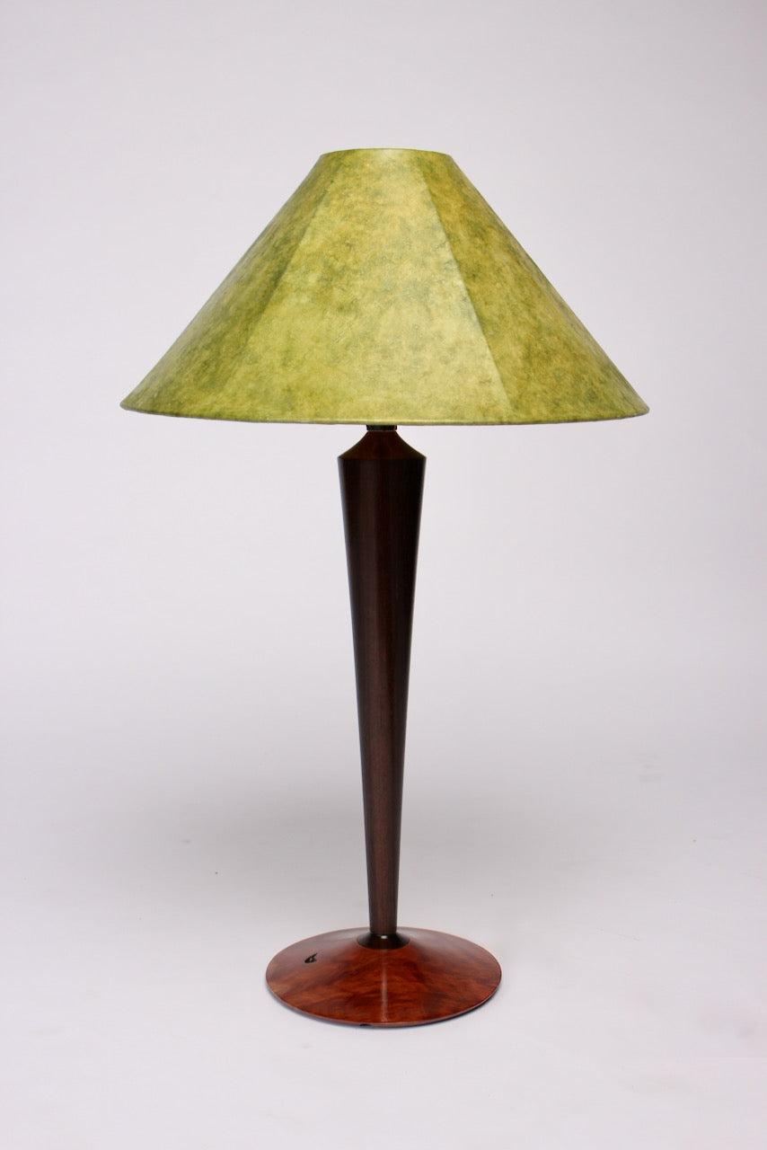 LARGE FLARED STEM LAMP BASE