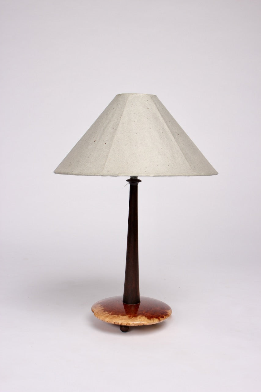 TALL DISC LAMP BASE