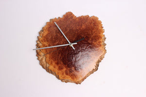 NATURAL EDGE WALL CLOCK