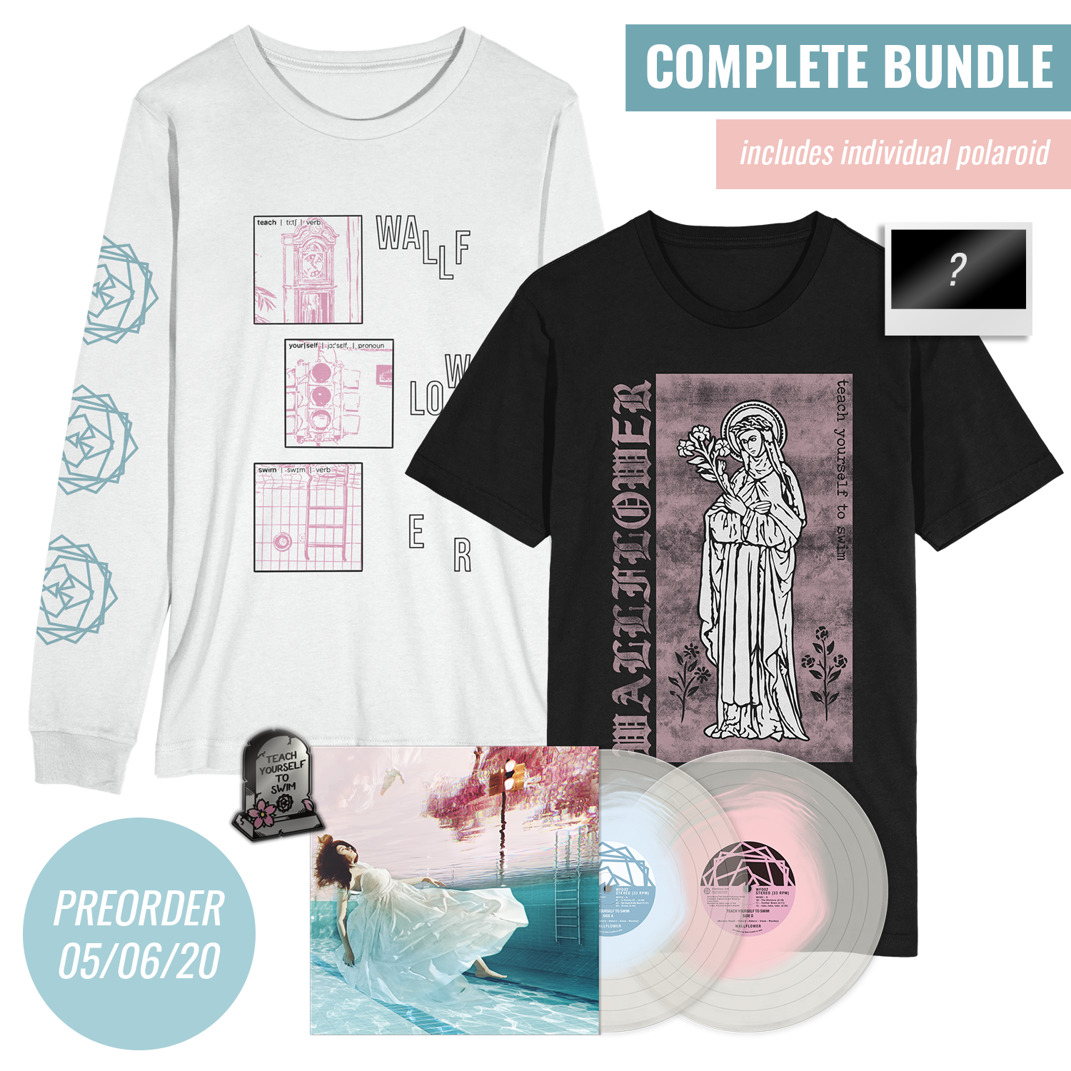 'Teach Yourself To Swim' LP Bundle #5