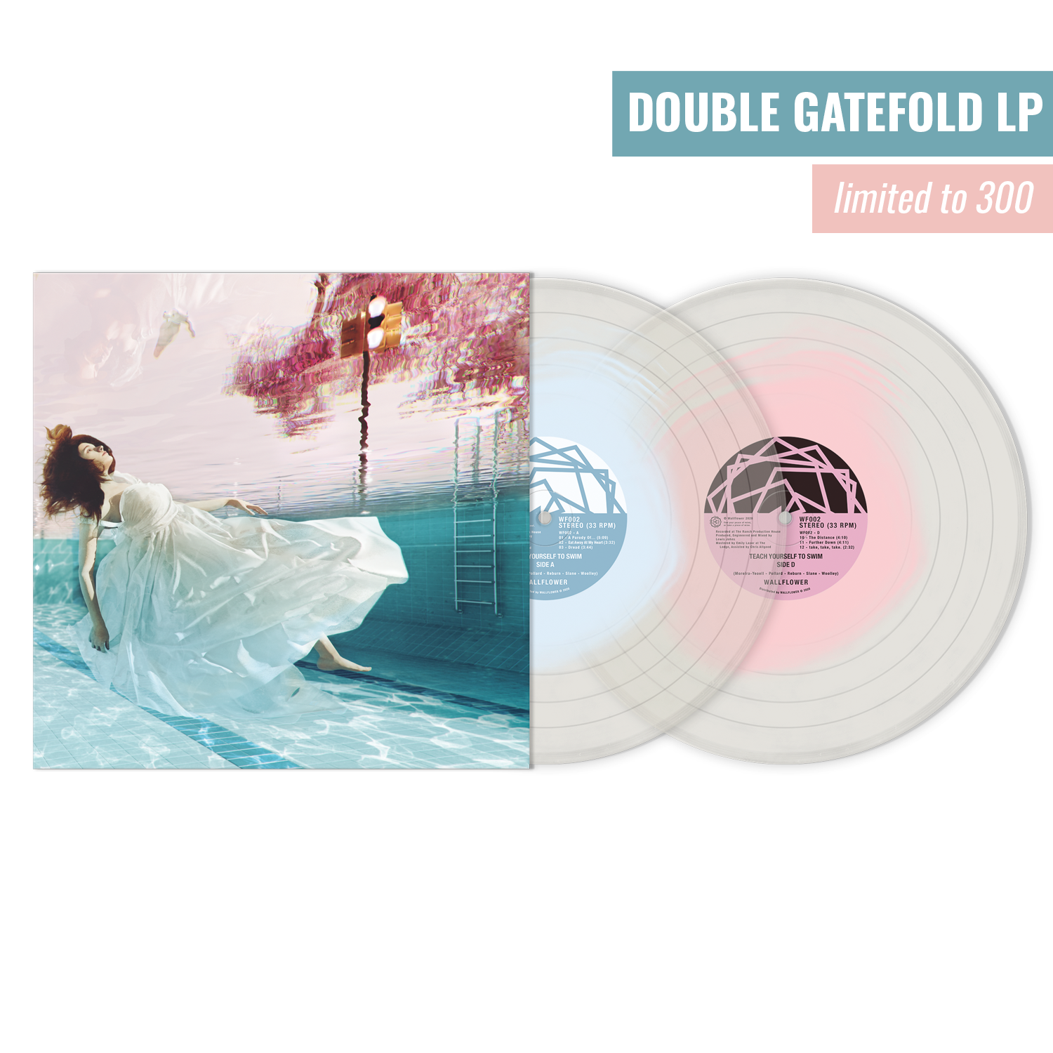 'Teach Yourself To Swim' Double Gatefold Vinyl LP