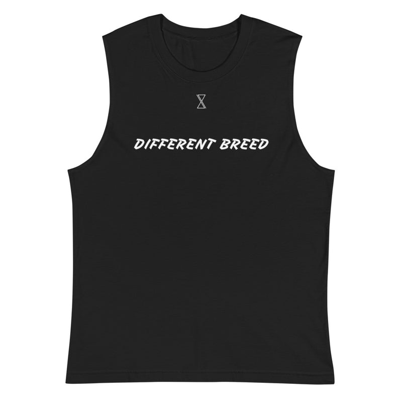 Different Breed Black Muscle Shirt