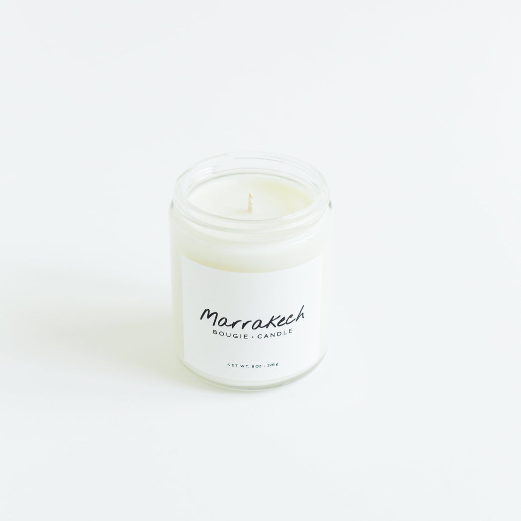 Soy Candle : Marrakech