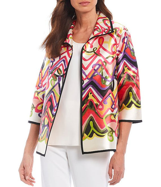 Caroline Rose Multi/Ivory Jacket