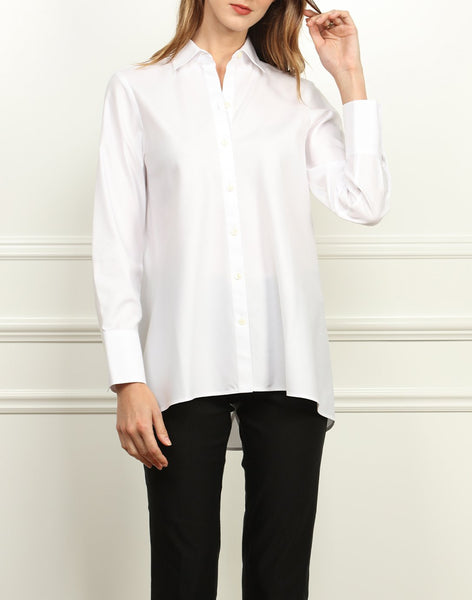 Hinson Wu Becky Luxe Cotton Shirt