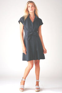 Finley Black Rocky Tie Dress