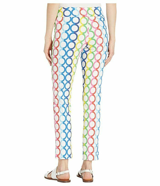 Krazy Larry Colorful Multi Circle Pants Inseam 28""