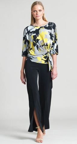 Clara Sun Woo Yellow Floral Top