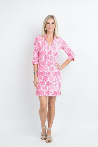 Katherine Way Coco Dress Chinese Paper Pink
