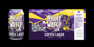 Lighthouse Brewing Nightwatch Coffee Lager 6 x 355 ml