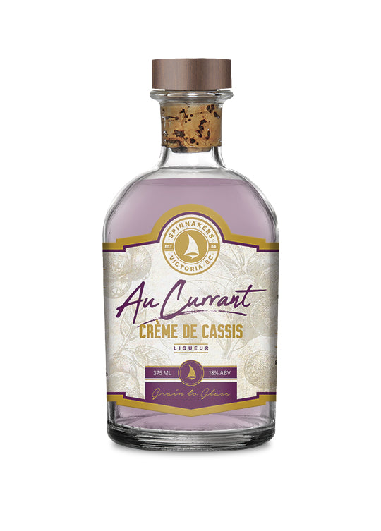 Spinnakers Distillery Au Currant Creme de Cassis 375 ml