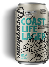 Load image into Gallery viewer, Persephone Coast Life Lager - 6 pack
