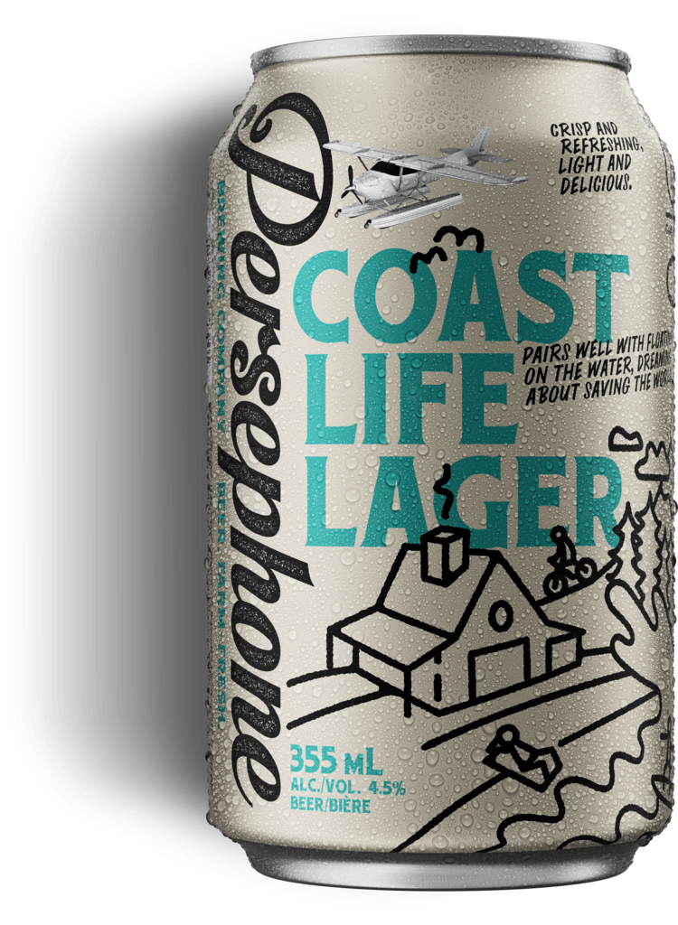 Persephone Coast Life Lager - 6 pack