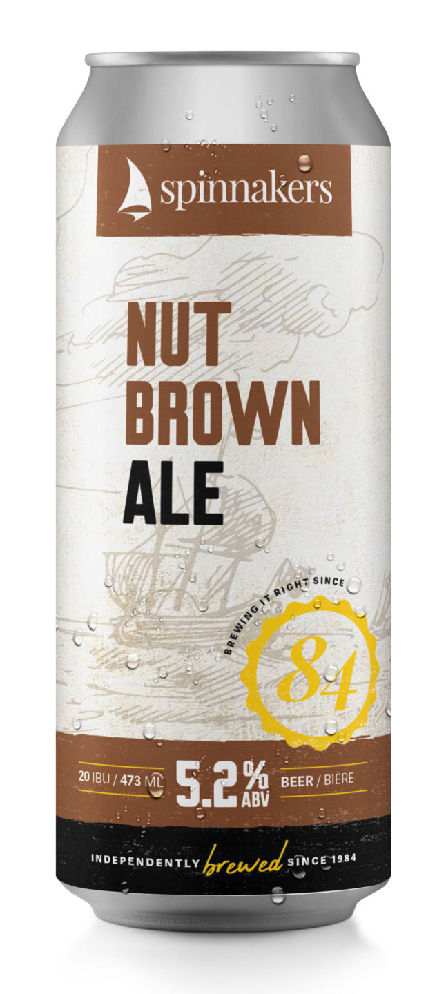 Spinnakers Nut Brown Ale - 473 ml 4 pack