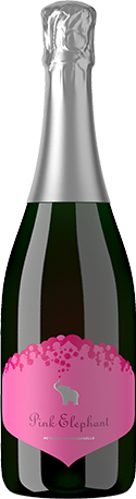 Elephant Island Winery 2017 Pink Elephant Sparkling Fruit Wine