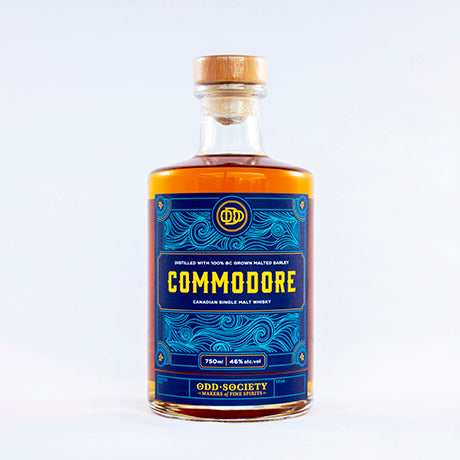 Odd Society Spirits Commodore Canadian Single Malt Whisky 375 ml
