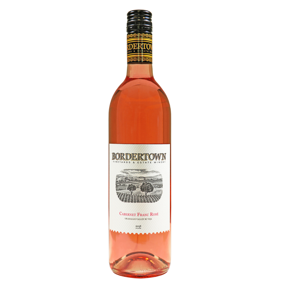 Bordertown Winery 2018 Cab Franc Rosé