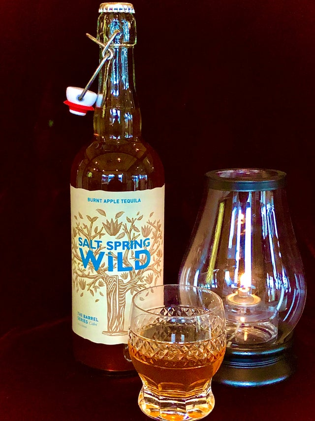 SS Wild Cider Burnt Apple Tequila Cider