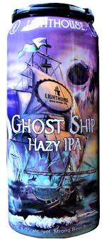 Lighthouse Brewing Ghost Ship Hazy IPA 6 x 355 ml can