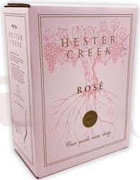 Hester Creek Winery 2019 Cab Franc Rose 3L box