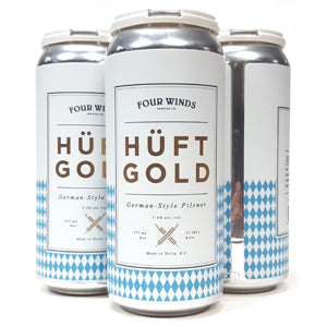 Four Winds Huftgold German-style Pilsner 4 pack 473 ml
