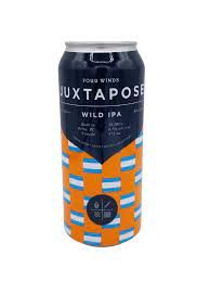 Four Winds Brewing Juxtapose Wild IPA 4 x 473 ml