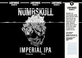 Lighthouse Brewing Numbskull Imperial IPA 4 x 473 ml can
