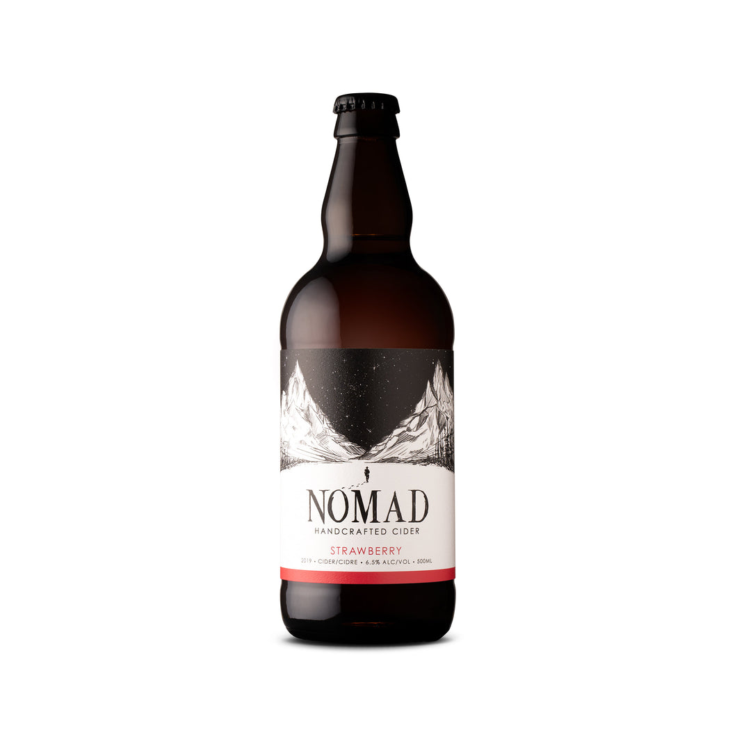 Nomad Strawberry Cider 500 ml