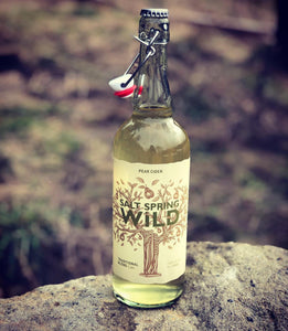 Salt Spring Wild Pear Cider 750 ml