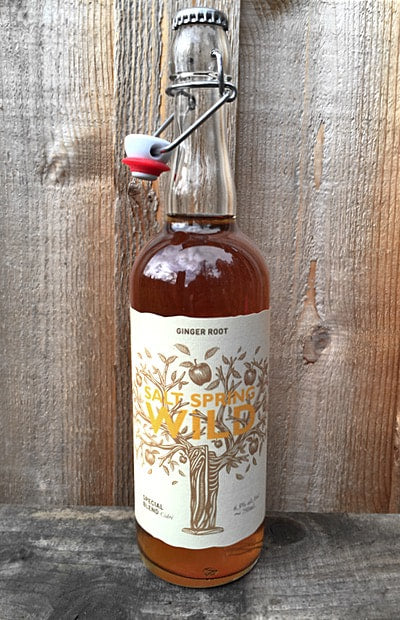 Salt Spring Wild Ginger Cider 750 ml