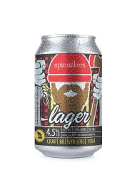 Spinnakers Lager 6 x 355 ml can