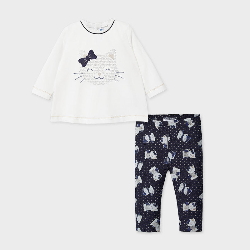 Kitties Set T-shirt + broek Mayoral