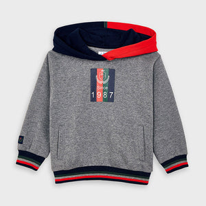 Mixed hoodie Sweater Mayoral